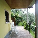 outside of garden terrace room