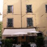 Alla Dolce Vita (above cafe)