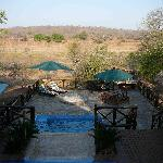 View from the Lodge Veranda