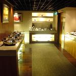Food Area at Club Lounge