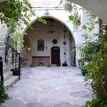 Courtyard of Sacred House