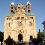 Front of Speyer Cathedral