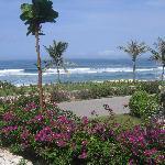 Ocean view from Bella Rosa restaurant