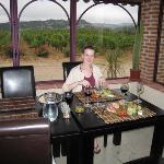 Dinner at Chateau La Sabine