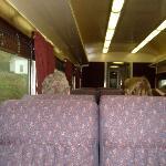 Comfortable plush vip seating