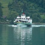 steamer on lake brienz