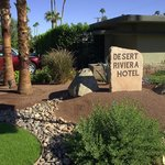 From the street, the Desert Riviera looks like one of a million small hotels
