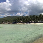 View upon arrival at Siquijor Port - Clear waters and White sands.