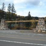 The entry sign off of 550