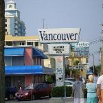 Vancouver sign from on Ocean Blvd