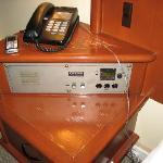 Ancient clock radio