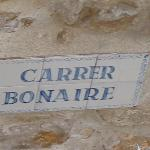 located on Carrer Bonaire, if you're interested