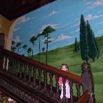 The Columns: wall mural