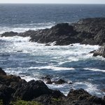 View from the Pacific Rim Path, Ucluelet