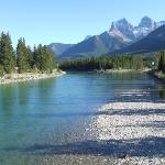 Bow River at Canmore
