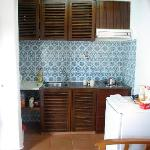 Kitchenette as seen from dining area