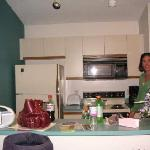 kitchen - we made the mess