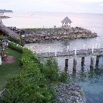 Pier & water sport rental area