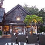 Waterfront fine dining restaurant