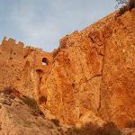 Salobrena Moorish Alcazar castle