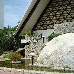 Entrance to The Chapel of the Peace - Las Brisas, Acapulco