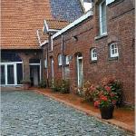 La Howarderie Courtyard