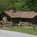 A typical cabin at Pickett State Park