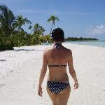 me on the beach near the 200's