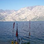 View from the Hotel Sole of Lake Garda