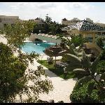 The hotel territory