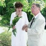 Eccentric Englishman and beautiful wife get married in the Botanical Gardens in Roseau, Dominica