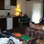 adequate room