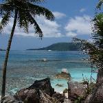 praslin from coco island