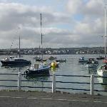 Tidy Skerries harbor