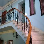 Casa Arequipa lobby stairway