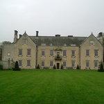 Nunnington Hall from the garden