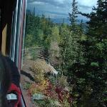 yes, from the inside of the cog train....