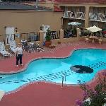 The Guitar Pool at DaysInn-Graceland