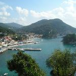 View of Parga town from Castle