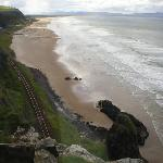 View from the window at Mussenden