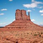 Striking desert landscape