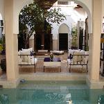 View Through the Pool