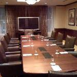 One of the hotel conference rooms.