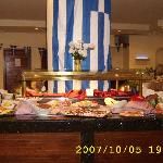 hotels restaurant - Greece night
