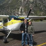 Just flown into Milford Sound