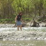 Gold Panning in Shotover River