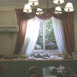 Salon desayunador hotel
