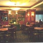 Dining room, lobby, internet room