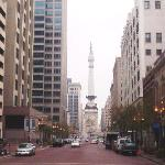 View  to  Monument Circle
