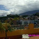 Vistas desde la terraza del hotel